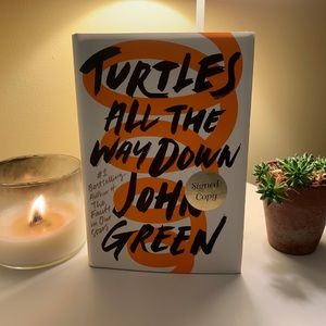 SIGNED COPY Turtles All the Way Down by John Green